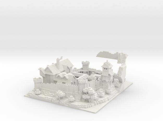 Tale Of Kingdoms  Guild Castle in White Natural Versatile Plastic