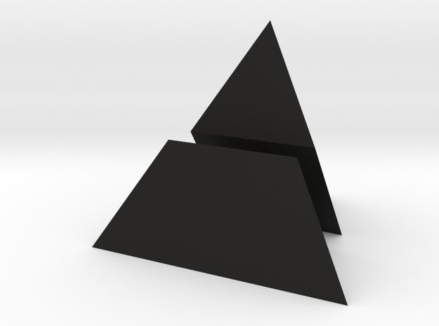 tetraeder halbiert 3d printed