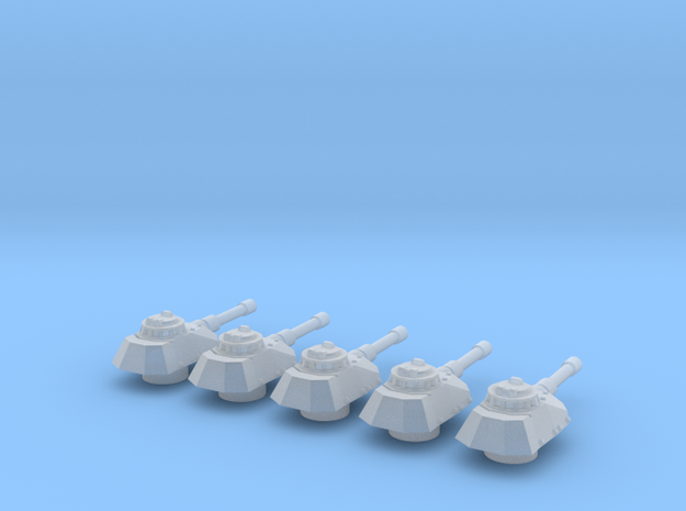 Panzer Mk IVsf cannon turrets