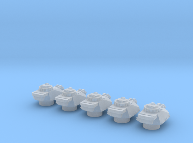 Panzer Mk IVsf MG turrets in Smooth Fine Detail Plastic