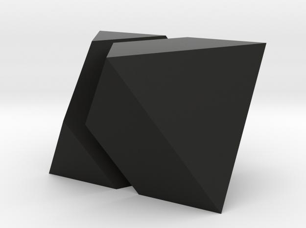 oktaeder halbiert 3d printed