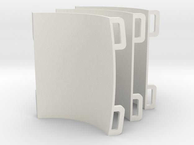 GoPro Atom mounts - 3 in White Natural Versatile Plastic