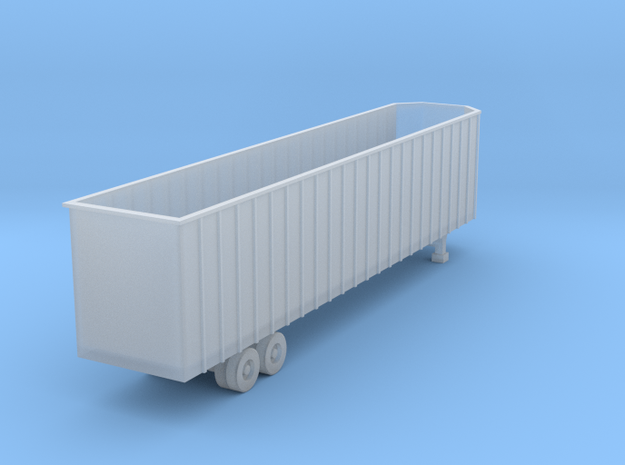 48 foot WoodChip Trailer - Zscale in Smooth Fine Detail Plastic