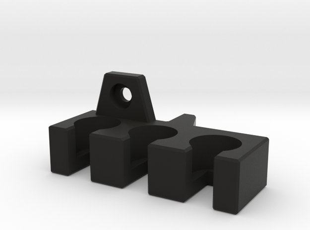 Cable Holder for Panasonic Monitor - RIGHT in Black Natural Versatile Plastic
