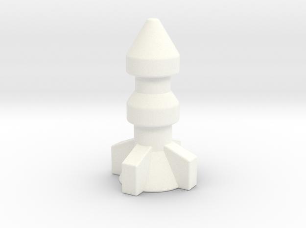 M.A.S.K. Thunderhawk Bomb in White Processed Versatile Plastic
