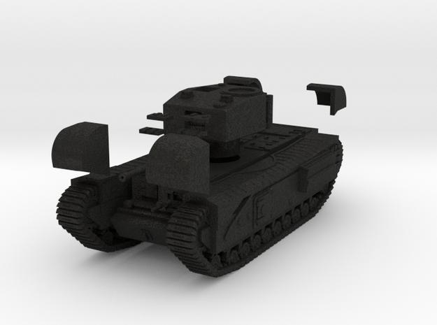 Tank- Churchill Mk III (1/87th) 3d printed