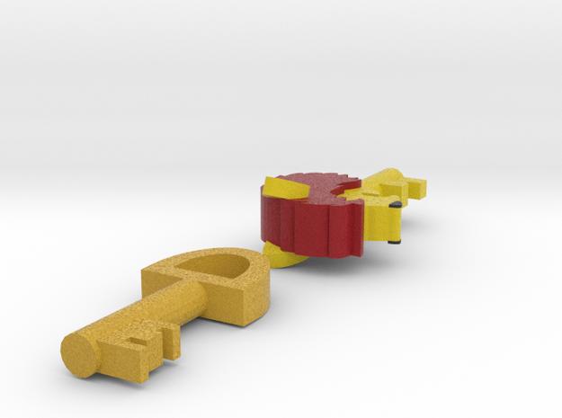 Zelda Fan Art: TLoZ: Keys in Full Color Sandstone