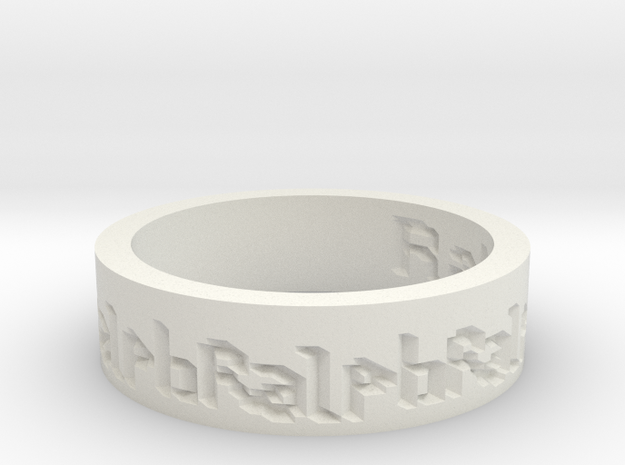 by kelecrea, engraved: Ralph 3d printed