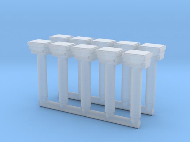 H0 1:87 Gleisanschlusskasten (10 Stk) in Frosted Ultra Detail
