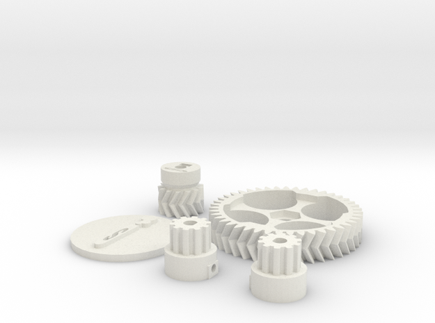 Schlaboratory Complete Gear Kit 3d printed
