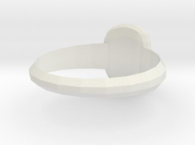 Medici Family Ring4 in White Natural Versatile Plastic