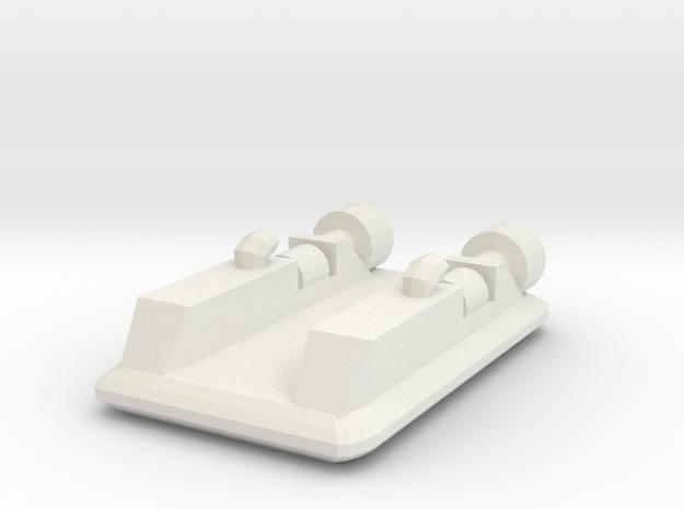 Hovercraft 1:1200 in White Natural Versatile Plastic