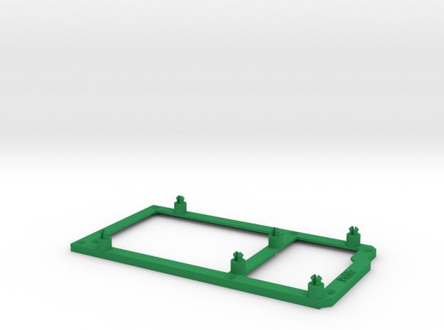 Low desktop stand for Arduino Mega 3d printed