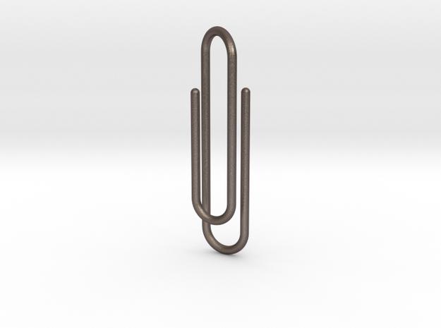 Clip tie bar 3d printed