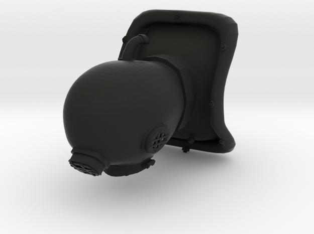 Mini DIVING helmet 1 inch tall 3d printed
