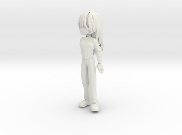 Alleychibi3 in White Natural Versatile Plastic