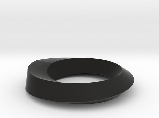 Mobius Loop Levelled - Square 1/4 twist 3d printed
