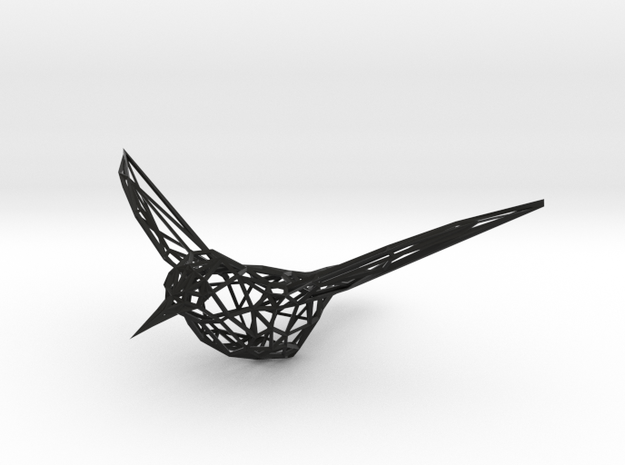 Humming Bird 3d printed