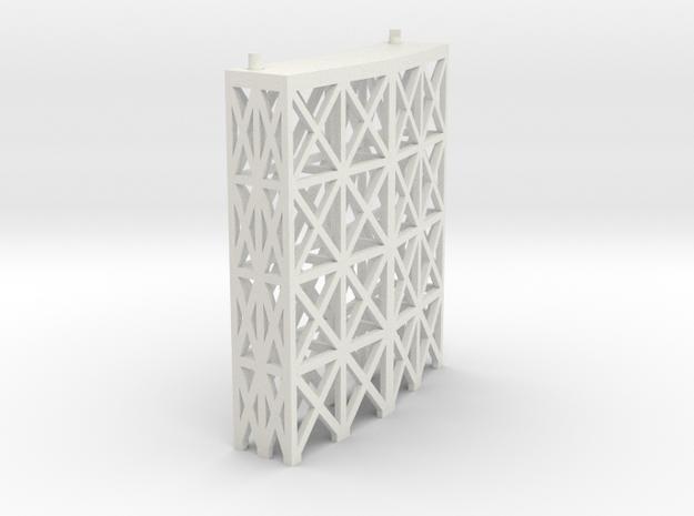 JOINER, CROSSING 2 INCH in White Natural Versatile Plastic