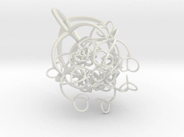 Branching in White Natural Versatile Plastic
