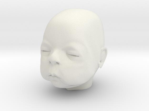 Baby Head 3d printed