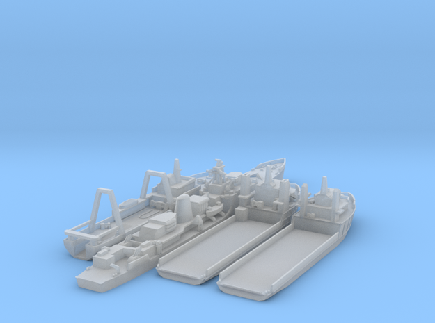 1/1250 Cod Wars Set 3 3d printed