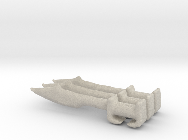 Hoplite sword greek  3d printed