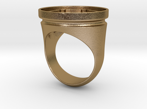 Empire Seal Ring 3d printed