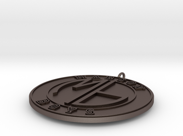 Marcon Boys Pendant2  3d printed