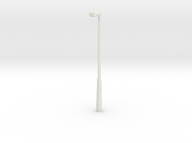 Lightpost 1 in White Natural Versatile Plastic