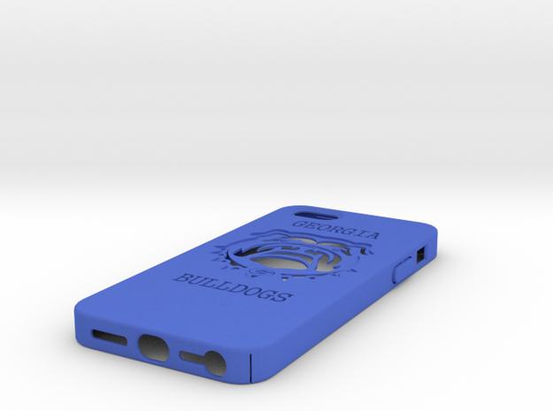 U Of Georgia Case IP5 3d printed