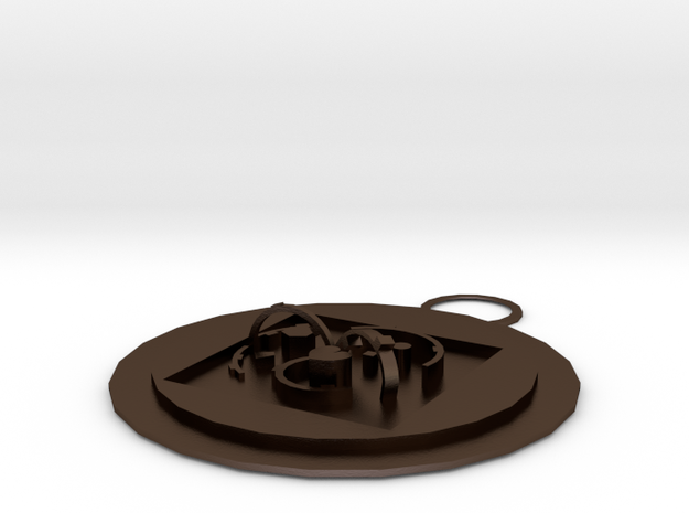 Keychain 3 3d printed