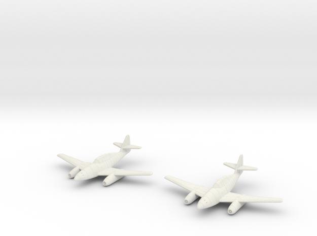 1/144 Messerschmitt Me-262B (x2) 3d printed