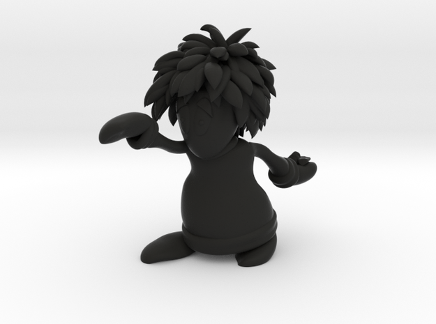 Lemming Basher (Small and White) 3d printed