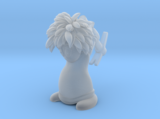 Lemming Miner (Small and White) 3d printed