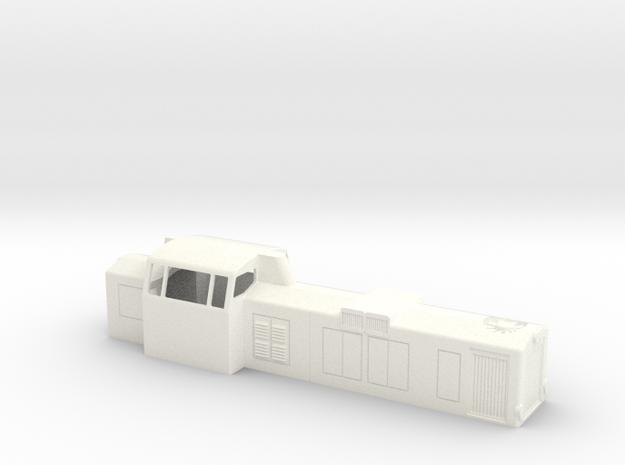 H0 Dv12-2500-uusi / Dv12 2500 new  in White Processed Versatile Plastic