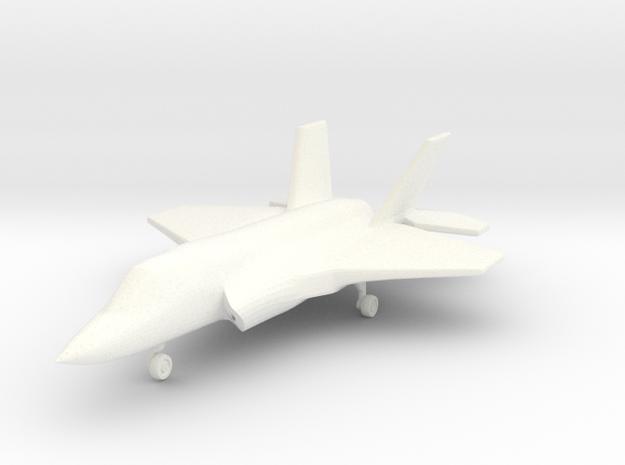 1/285 (6mm) F-35B w/Landing Gear in White Processed Versatile Plastic