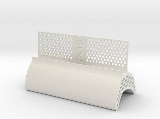 Nexus 10 Bootleg Dock (Beta) in White Natural Versatile Plastic