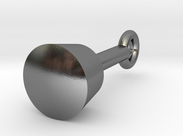 Silver Maul Pendant 3d printed