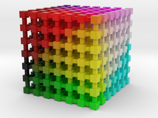 LAB Color Cube: 2 inch