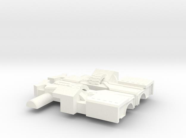 HMG II in White Processed Versatile Plastic