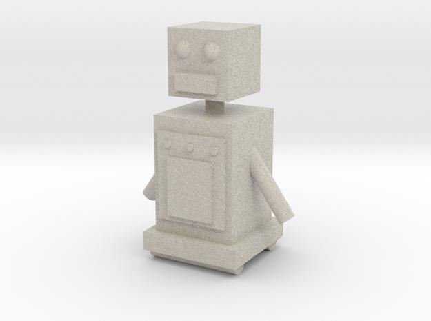 Upgraded Robot in Sandstone
