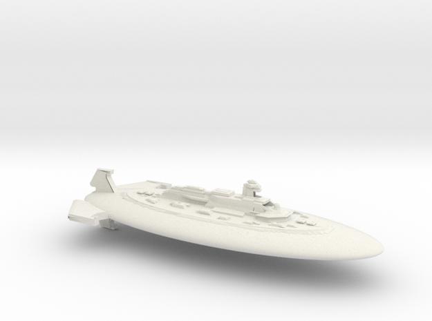 Xxcha Flagship in White Natural Versatile Plastic