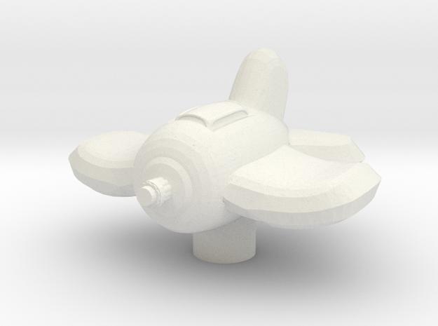 Xxcha Fighter in White Natural Versatile Plastic