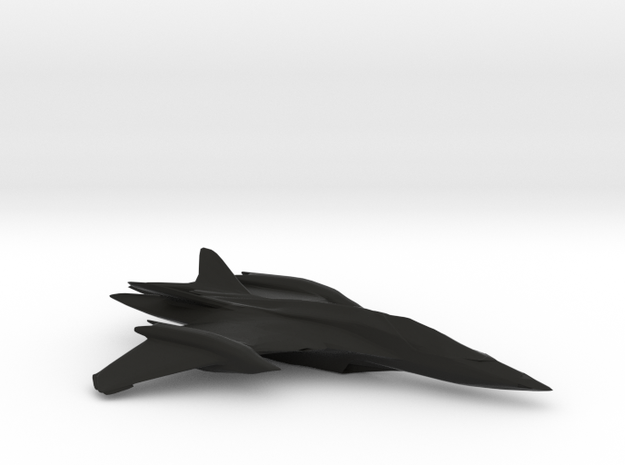 New andromeda Fighter 3d printed