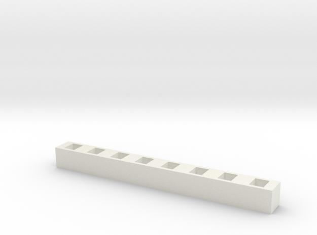 SMD LED Bar Graph 3d printed