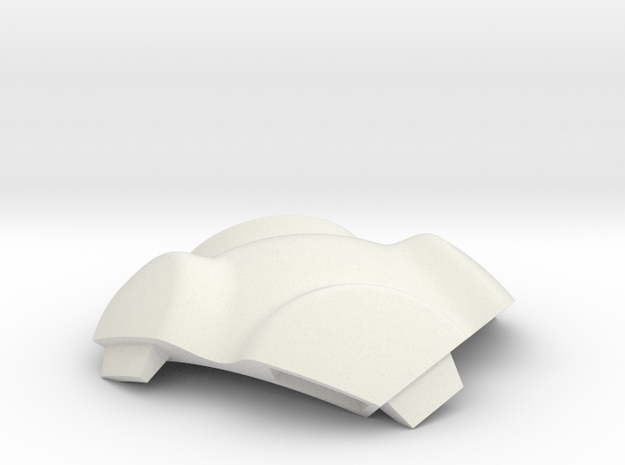 NSphere Palm (tile type:6) in White Strong & Flexible