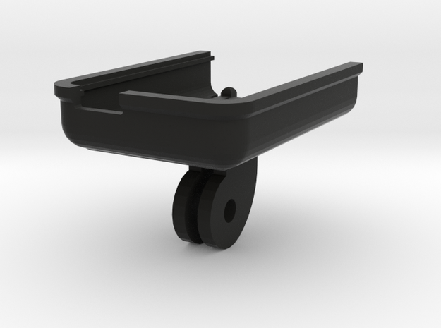 Mobius Camera Clip for Go Pro Mounts in Black Strong & Flexible