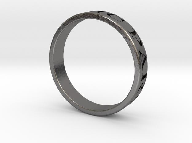 Latin Motto Ring