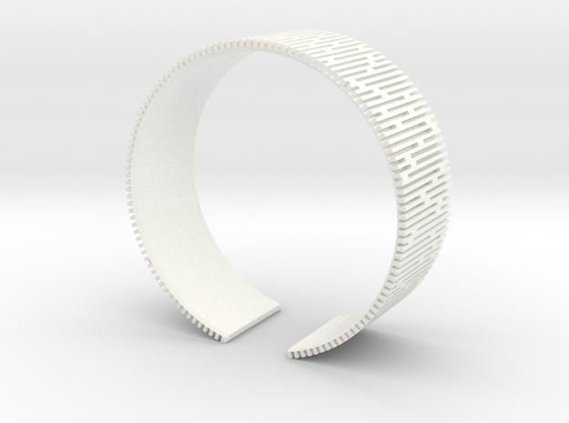 Crescent Bracelet (S) 3d printed